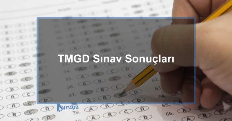 14 Temmuz 2018 TMGD Sınav Sonuç Duyurusu