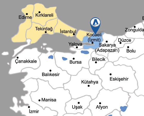 Kocaeli -Gebze TMGD